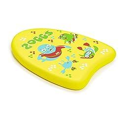 Zoggs Children's Zoggy Mini Easy Learn to Swim Float Kickboard - Yellow, 3-12 Years