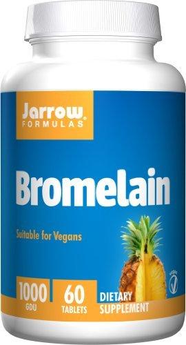 Jarrow Formulas - Bromelain 1000 GDU, 60 tablets by Jarrow -