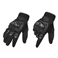 ‏‪KKmoon Men's Motorcycle Gloves Touching Screen Full Finger Motorbike Racing Motor Cycling Motocross Mountain Breathable M-XL‬‏