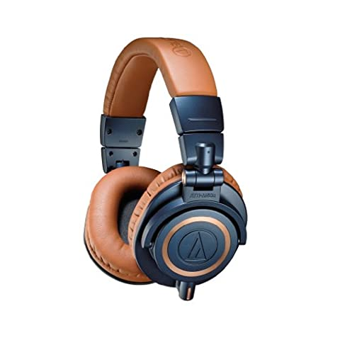 Audio-Technica ATH-M50XBL Casque audio professionnel de monitoring Bleu nuit/Camel