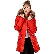 new arrival d3cfa 71f95 Suchergebnis auf Amazon.de für: rote winterjacke damen