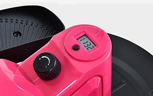 41aJsCiiwuL - Lcyy-step Stepper Trainers Home Mini Walking Stepping Machine with Adjustable Resistance and LCD Display Pink