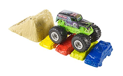 Hot Wheels Hot Wheels Monster Jam Crash And Carry Arena Play Set