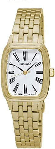 Seiko Quartz Ladies Water Resistant Golden Watch