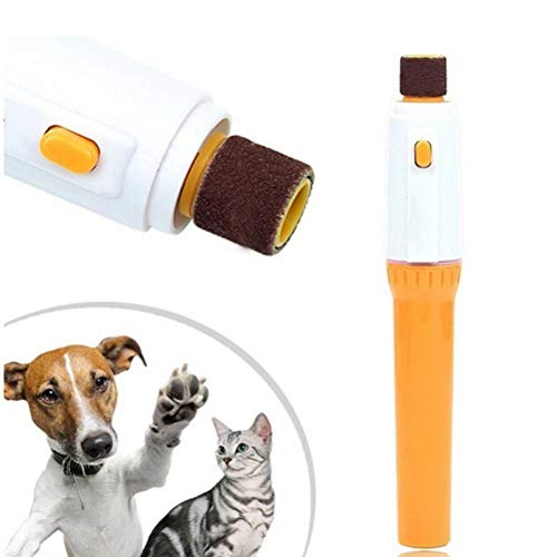 TOSSPER Haustier Hund Katze Nagel Kosmetik-Schleifer-Trimmer Clipper Elektrofeile Kit - Nagel Trimmer Kit