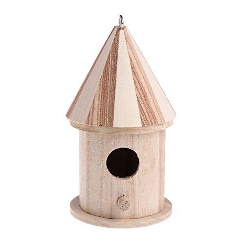 Jiamins Casetta per nidi per uccellini, piccola casetta per uccelli