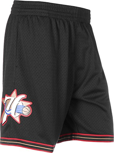 Mitchell & Ness Philadelphia 76ers 2000-2001 Swingman NBA Shorts Schwarz, L