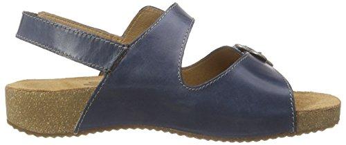 Josef Seibel Tonga 17, Damen Knöchelriemchen Sandalen, Blau (denim), 36 EU -