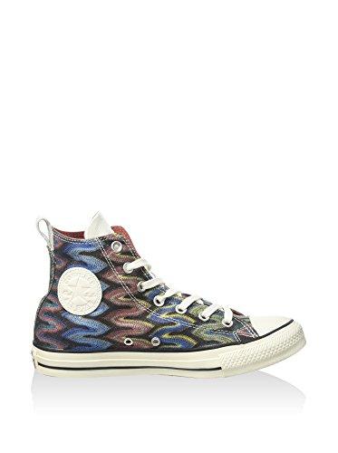 Converse - A/S Prem Hi Cotton Missoni, Sneakers stringate Unisex – Adulto Multicolore/Nero