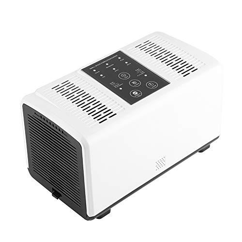 Purificador de aire Ion negativo Silencioso, 4en 1purificador de aire Generador de iones con doble...