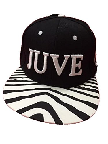 Perseo Hut Juve mit Visier Rapper Zebra bianconera Juventus F.C. PS 01924