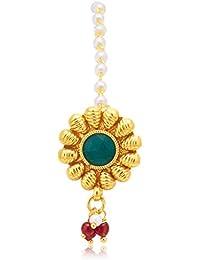 Sukkhi Copper Hair Jewellery for Women (Golden) (BRL70091GLDPD550)