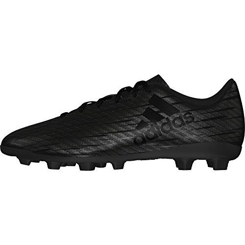 adidas Jungen X 16.4 Fxg J Fußballschuhe, Rouge Solaire/Argent/Rouge Vif, UK NOIR