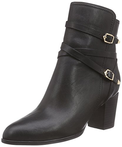 Giudecca JY1572-1 Damen Biker Boots Schwarz (Black)
