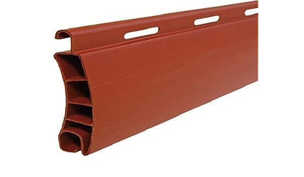 Made in Italy Larghezza x Altezza Qui in Colore Rosso Mattone P101 e Dimensioni 100x260 Tapparella in PVC Vari Colori e Misure AWITALIA