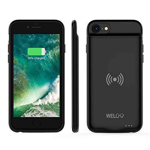 WELUV Qi - Funda de batería para iPhone 6