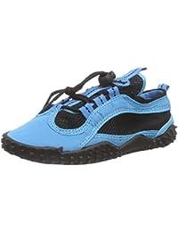 Playshoes Badeschuhe, Aquaschuhe, Surfschuhe Neonfarben, Chaussures de Sports Aquatiques Mixte Adulte