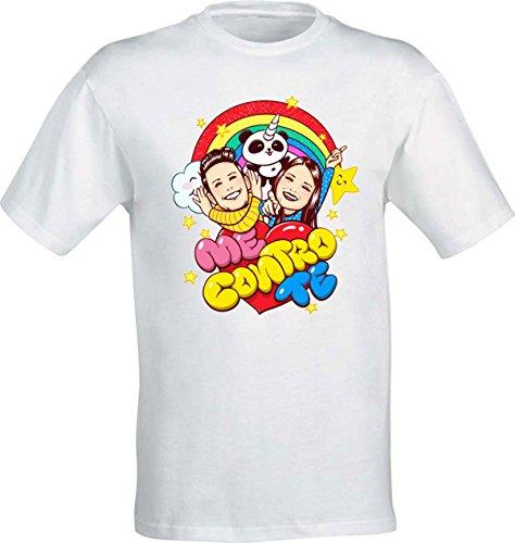 La t-shirt di sofì e luì team trote kira e ray 100% cotone alta qualità - bambini/e ragazzi/e adulti (9-11 anni)