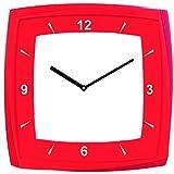 Clappe Plastic Wall Clock (27.94 cm x 27...