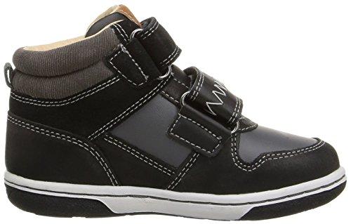 Geox B Flick C, Chaussures Marche Bébé Garçon Schwarz (BLACKC9999)
