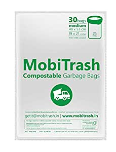 MobiTrash Compostable Garbage Bags