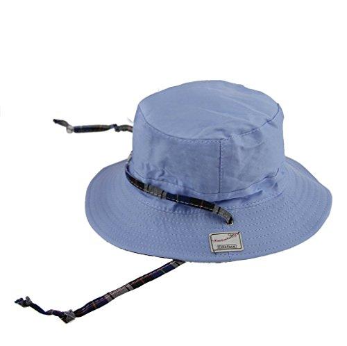 YSXY Kinder Sommerhut Sonnenhut Schattenhut Fischerhut Cowboyhut Babymütze mit Kinnriemen Einstellbare Kopfgröße Mädchen Jungen - Junge Münze