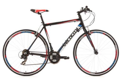 KS Cycling Fitnessbike Alu-Rahmen 28' Velocity 21-Gänge schwarz RH56cm