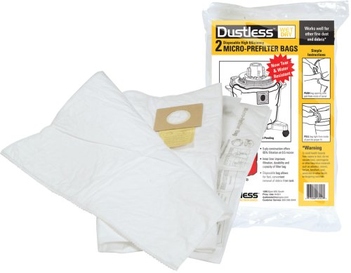 Staubfreie Technologien 13151Micro Pre Filter, 20er Pack (Tasche Pre-filter)