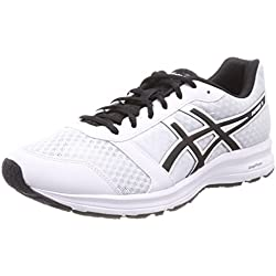 Asics Patriot 9, Zapatillas de Running para Hombre, Blanco (White/Black/White 0190), 45 EU