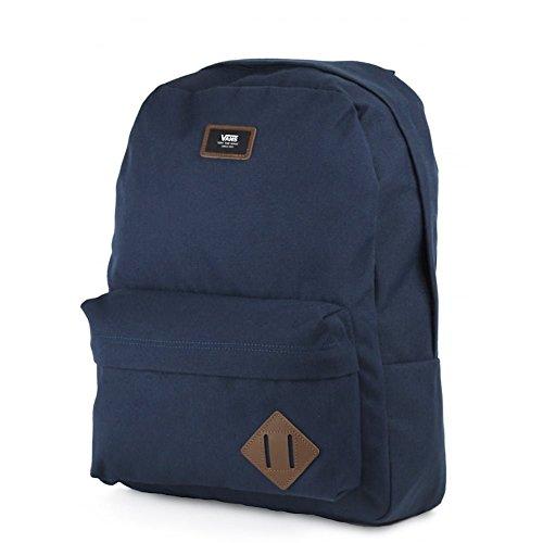 Vans Old Skool Ii Backpack Zaino Casual, 42 Cm, 22 Liters, Grigio (Heather Suiting) Blu (Navy)