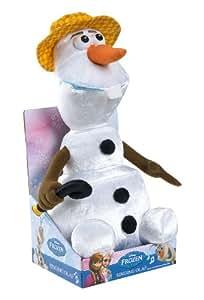 Disney la reine des neiges olaf peluche chantant en - Reine des neiges en anglais ...