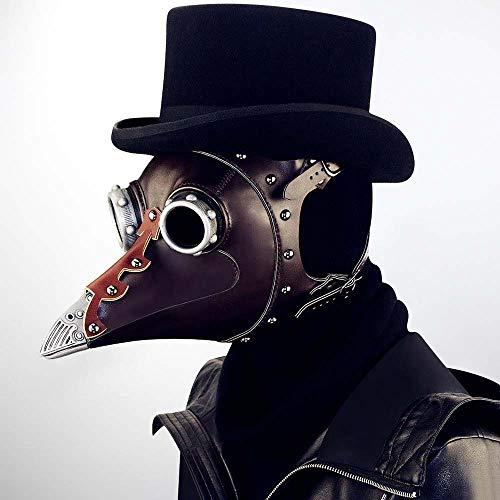 Halloween Masken Dekoration, Steampunk Pest Long Bird Mund Doctor Dance Maske, 31Cm × 25Cm × 24Cm, Bühnen Performance Kleidung Mit Party Party Cosplay