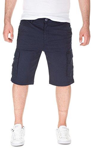 Yazubi Uomo Chino Bermuda Short Pantaloncini Mundo , navy (2001), W32