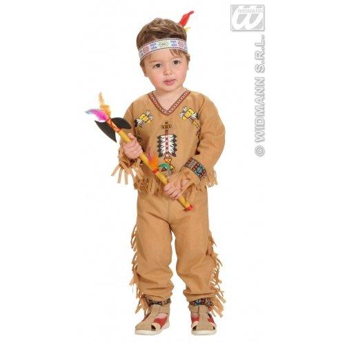 Widmann 4892B - Indianer Outfit für Jungen 98 (1-2 Jahre)