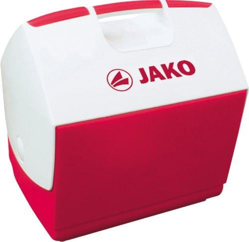 JAKO Unisex- Erwachsene 2150 Kühlbox, rot/weiß, 0 (Volumen: 6,0 Liter - Fassungsvermögen: 4,45 Liter)