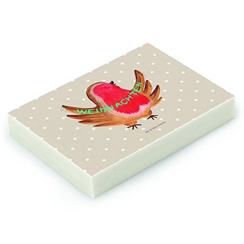 Mr. & Mrs. Panda Radiergummi Rotkehlchen Weihnachten - 100% handmade in Norddeutschland -...