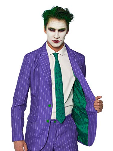 Suitmeister Halloween Suits - The Joker™ - Costume Comes with Jacket, Pants & Tie
