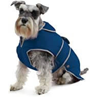 Muddy Paws Stormguard & Fleece Lining Coat Blue Medium