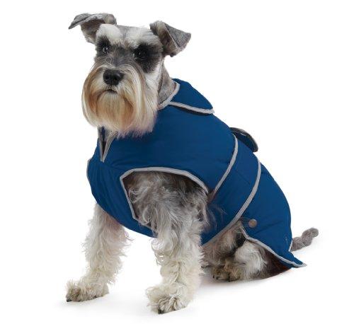 Muddy Paws Stormguard & Fleece Lining Coat Blue Medium