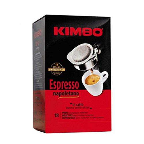 Kimbo Espresso Napoletano Kaffeepads, 18 Stück 108