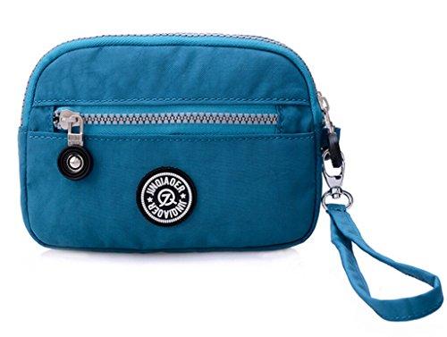 tiny-chou-dual-layers-zipper-purse-waterproof-nylon-wristlet-bag-clutch-handbag-cell-phone-pouch-oce