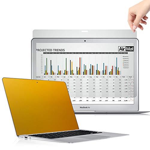 Premium Blickschutzfilter für MacBook Air 11 Zoll, Privacy Screen Filter, Anti-Spy Blickschutzfolie - von AirMat (A1370 / A1465)