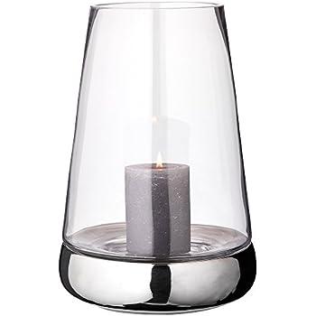 Hochwertiges Windlicht mit Glas  Höhe:46cm