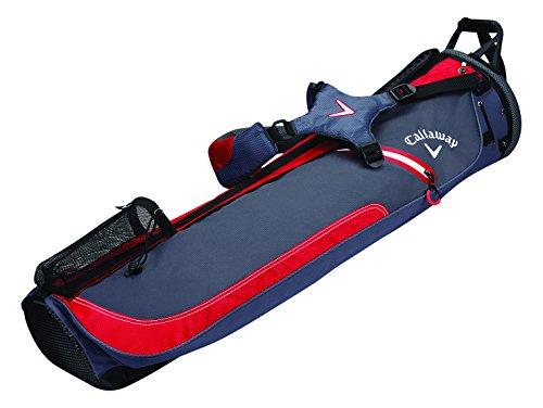 Callaway HL1doppelt BG CG Pencil-Bag Einheitsgröße Titanium/Red/White