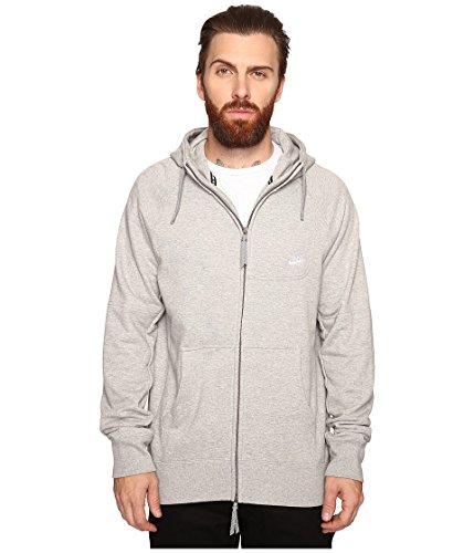 Nike sb-everett FZ Hoodie sweat-shirt-homme Gris (Dk Grey Heather / White)