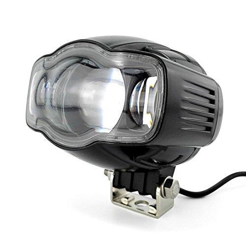 GRFH Motorrad USB Scheinwerfer Front Scheinwerfer Externe Ultra Bright LED Scheinwerfer Elektrische Pedal Auto Refit Licht Externe Paving 2400LM
