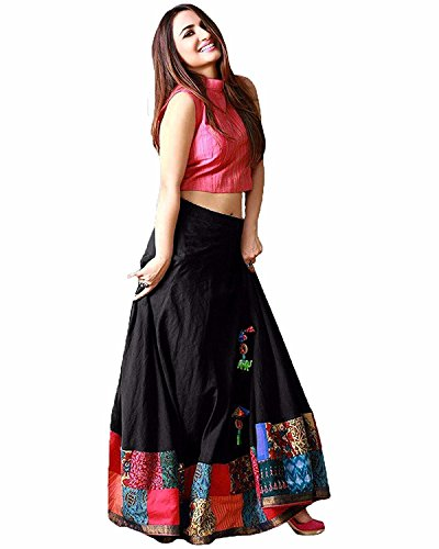 Lehenga cholis (Women\'s Clothing lehenga choli for women latest design wear lehenga choli with designer Blouse and lehenga free size beautiful Bollywood lehenga choli for women party wear offer desig