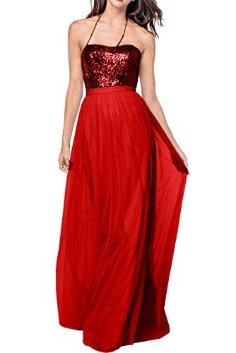 Missdressy - Robe de mariage - Trapèze - Femme Rouge