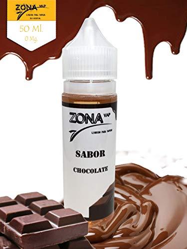 Zona Vap Chocolate 50ml E líquido Liquido Vaper Para
