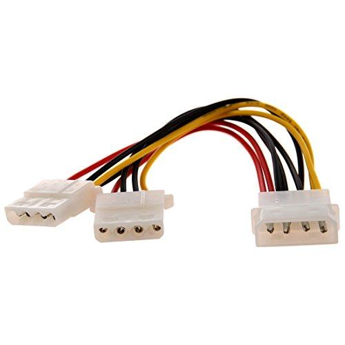 Ide Eide Kompatibel (TOOGOO(R) Computer Molex 4 Pin Stromversorgung Y-Kabel Strom Adapter Verteiler Y-Splitter-Kabel)